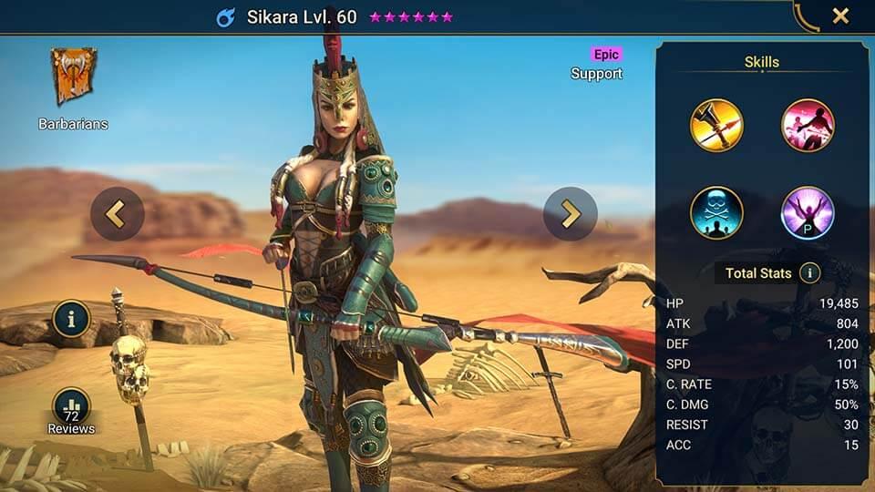 Raid Shadow Legends Sikara