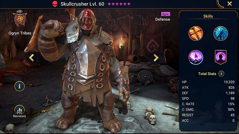 Raid Shadow Legends Skullcrusher