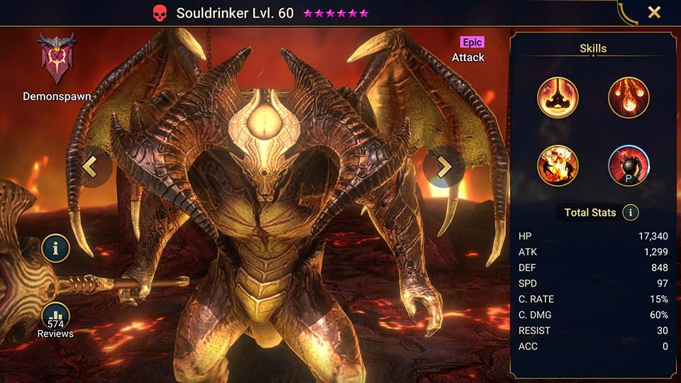Raid Shadow Legends Souldrinker
