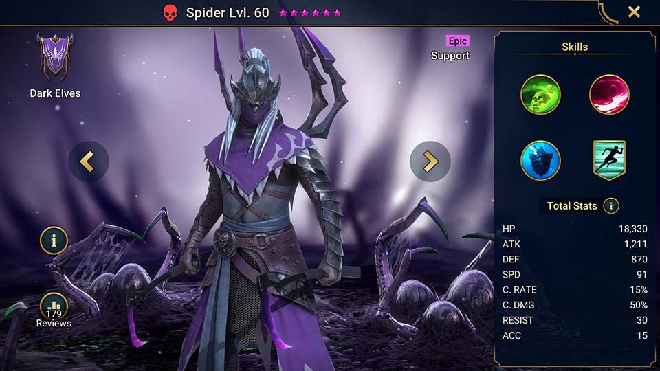 Raid Shadow Legends Spider