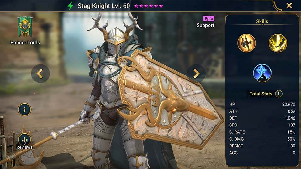 Raid Shadow Legends Stag Knight