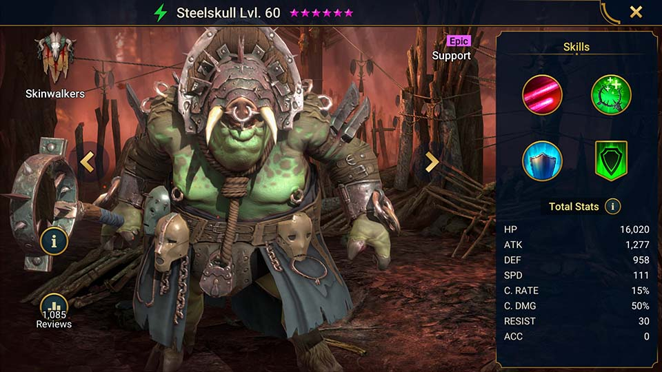 Raid Shadow Legends Steelskull