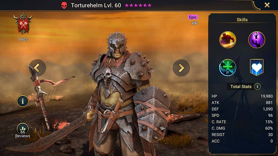 Raid Shadow Legends Torturehelm