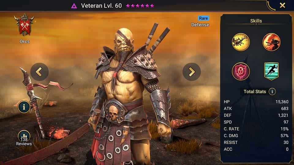 Raid Shadow Legends Veteran