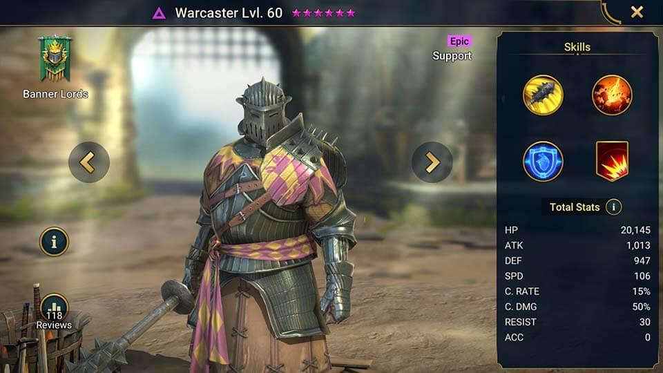 Raid Shadow Legends Warcaster