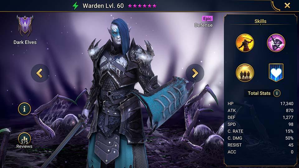 Raid Shadow Legends Warden