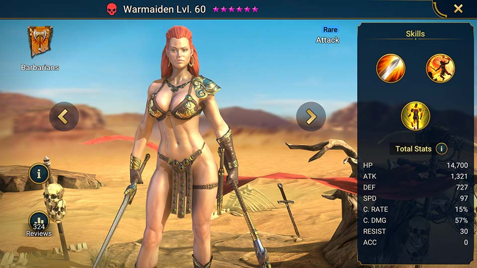 Raid Shadow Legends Warmaiden