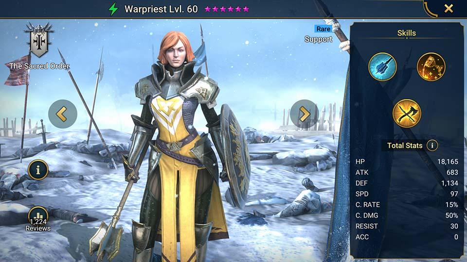 Raid Shadow Legends Warpriest