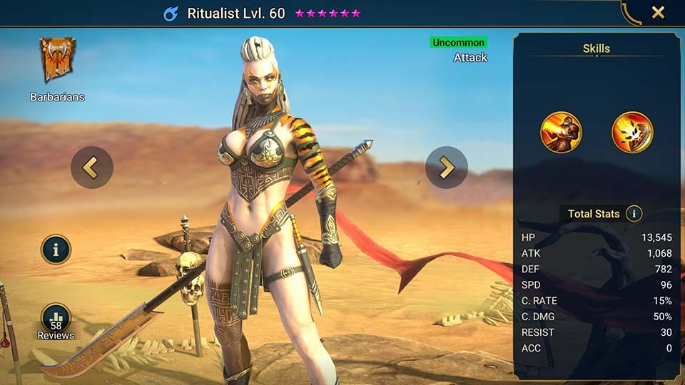 Ritualist Raid Shadow Legends