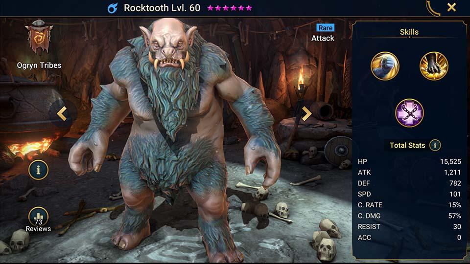 Rocktooth Raid Shadow Legends