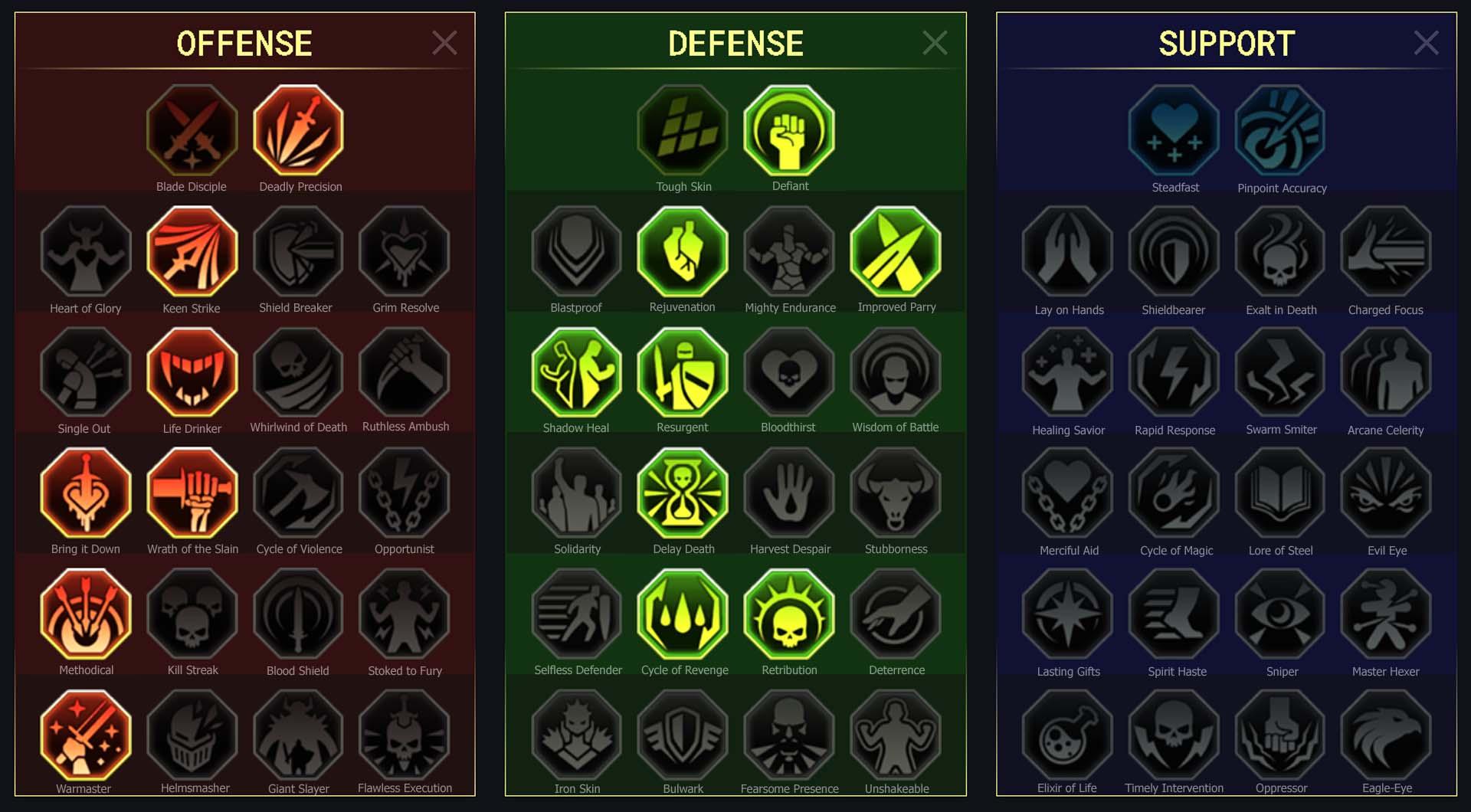 Sepulcher Sentinel Arena Campaign Faction Wars