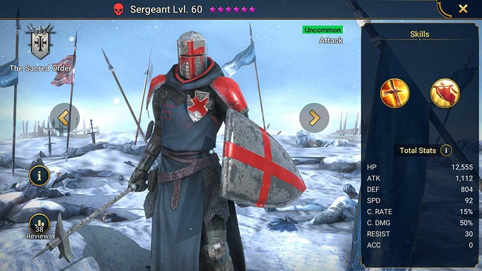 Sergeant Raid Shadow Legends