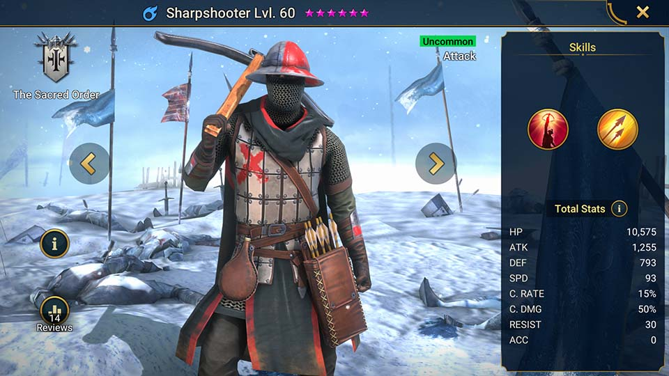 Sharpshooter Raid Shadow Legends