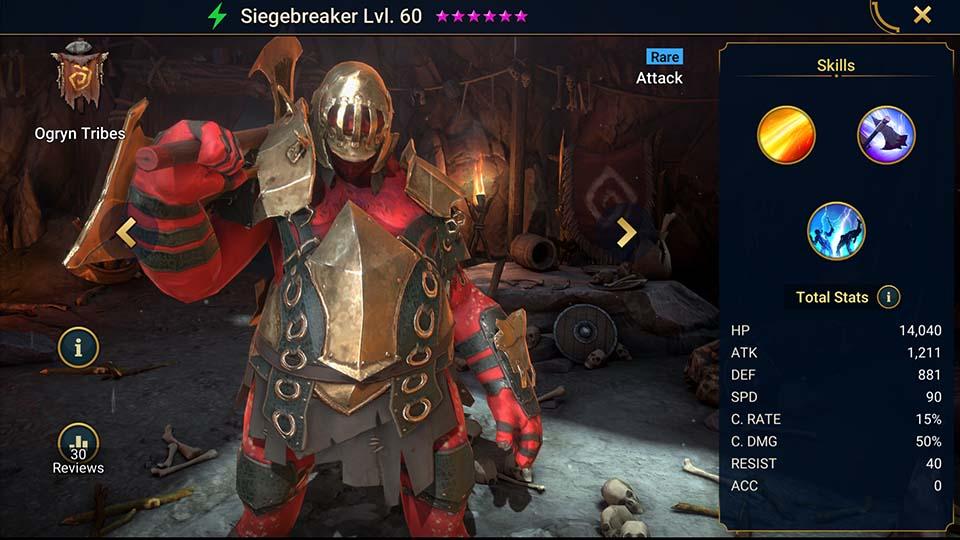 Siegebreaker Raid Shadow Legends