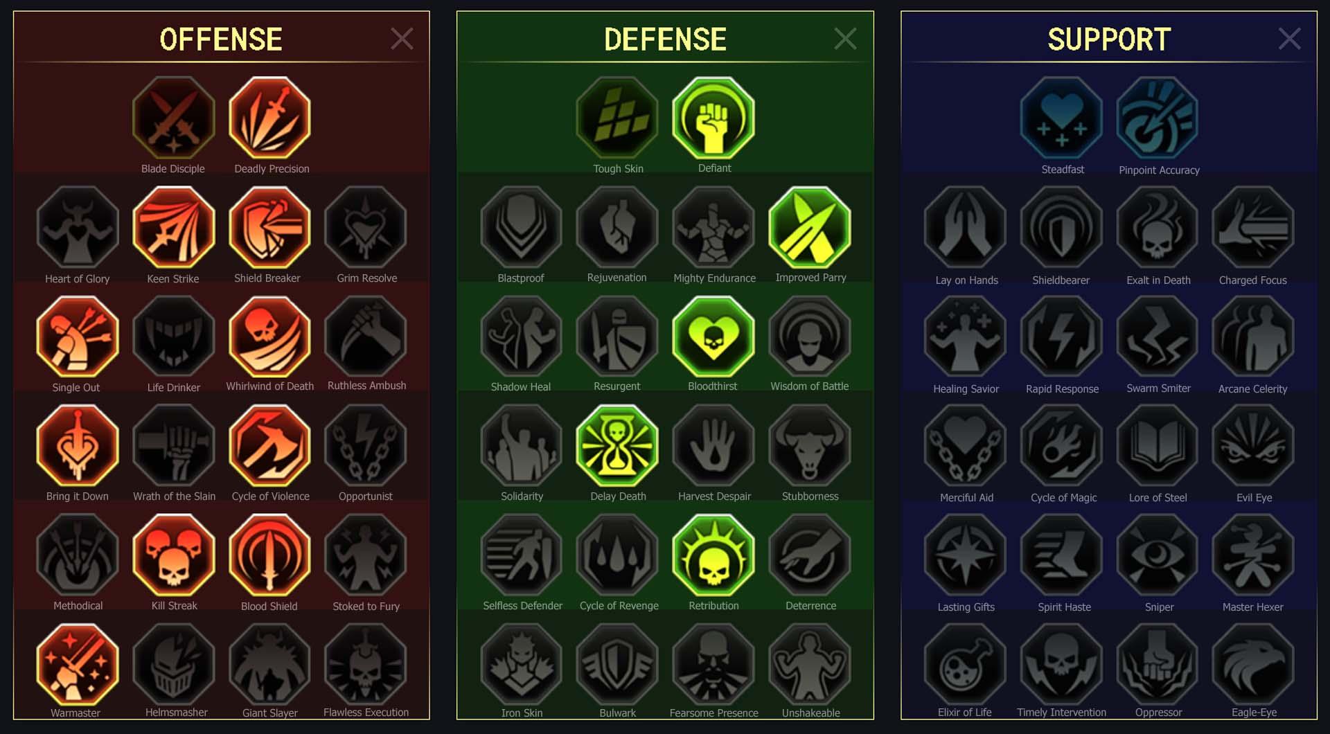 Skirmisher guide