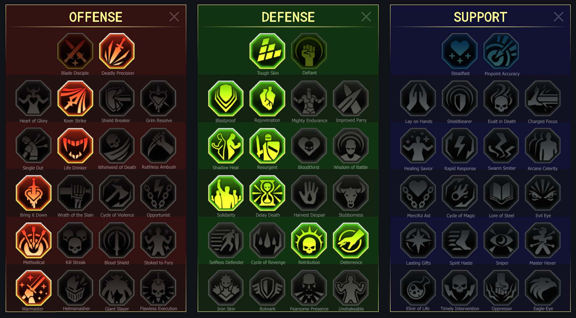 Skullcrusher Arena Campaign Clan Boss Dungeons Faction Wars