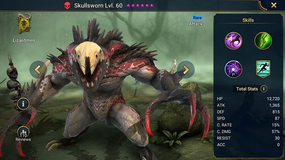 Skullsworn Raid Shadow Legends