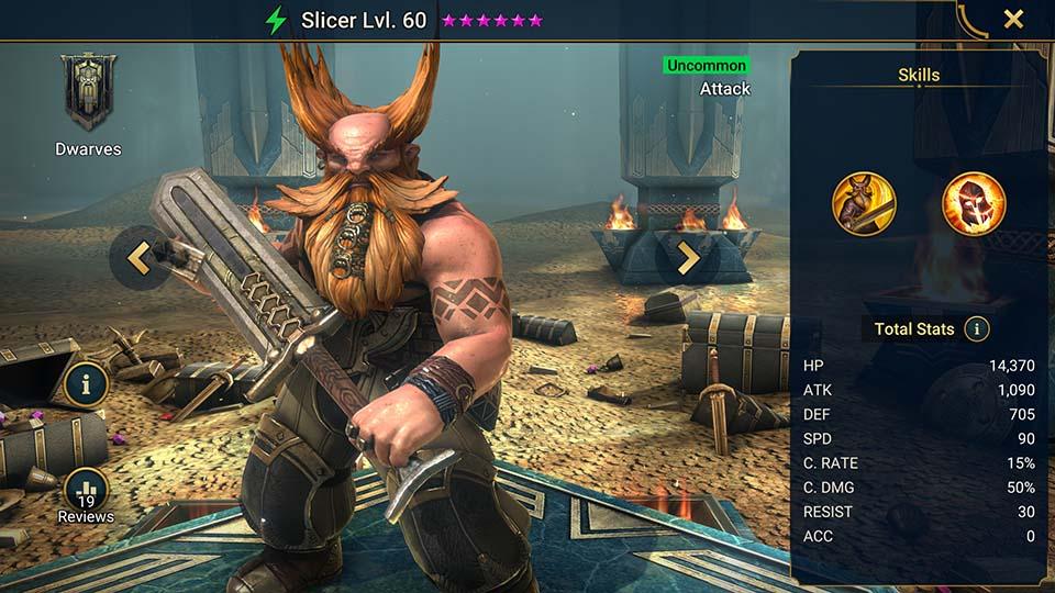 Slicer Raid Shadow Legends