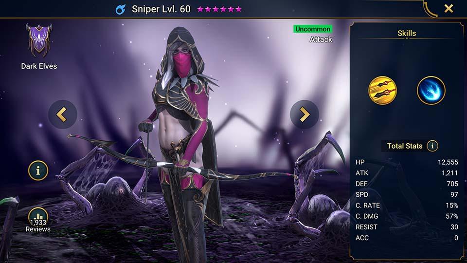 Sniper Raid Shadow Legends