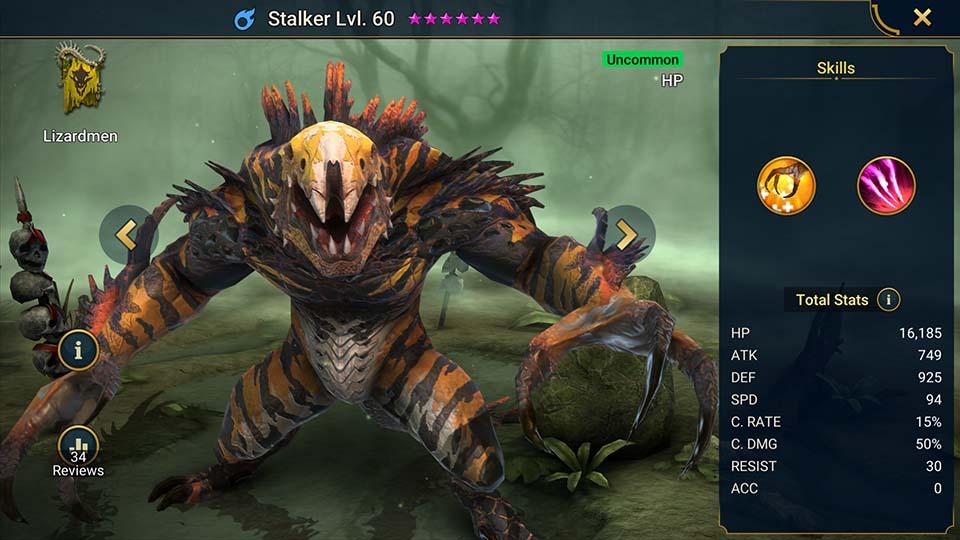 Stalker Raid Shadow Legends