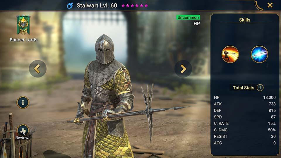 Stalwart Raid Shadow Legends