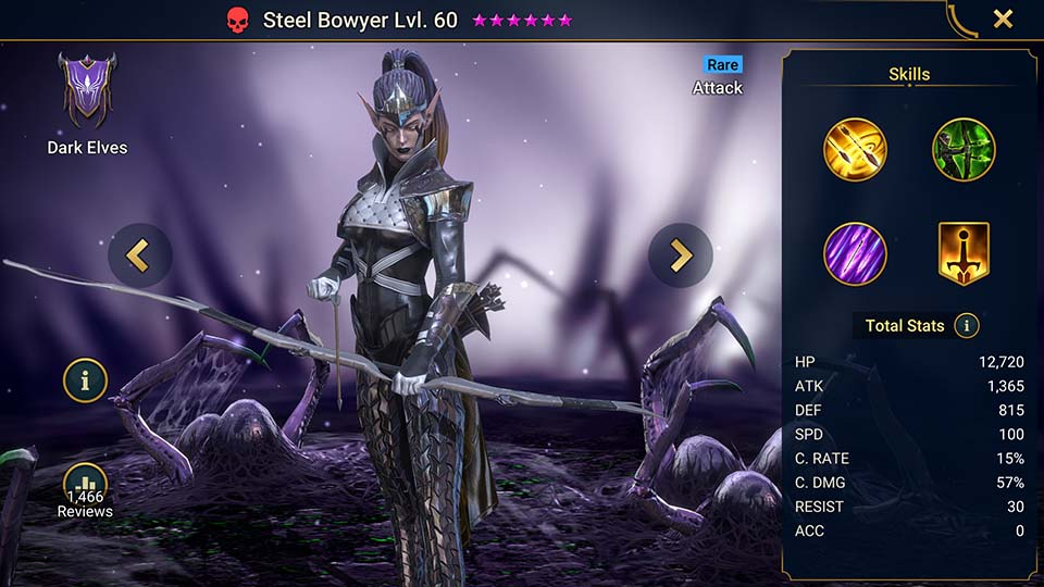 Steel Bowyer Raid Shadow Legends
