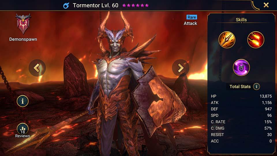 Tormentor Raid Shadow Legends