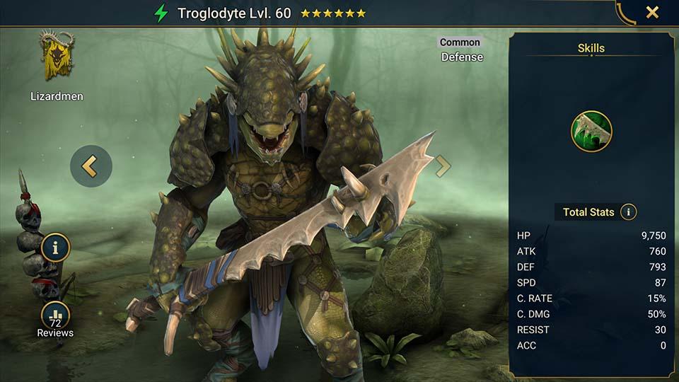 Troglodyte Raid Shadow Legends