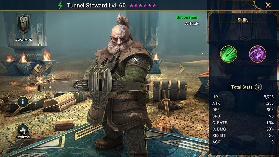 Tunnel Steward Raid Shadow Legends