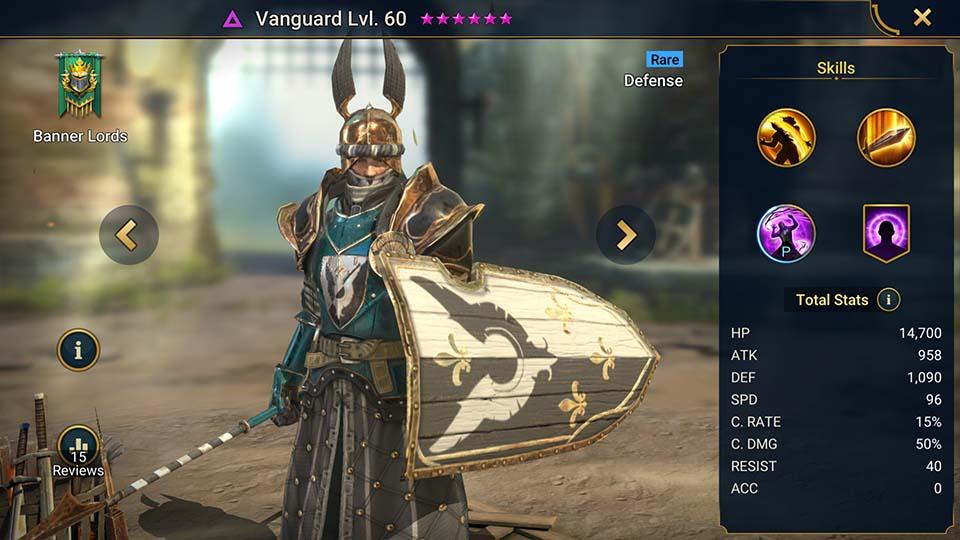 Vanguard Raid Shadow Legends