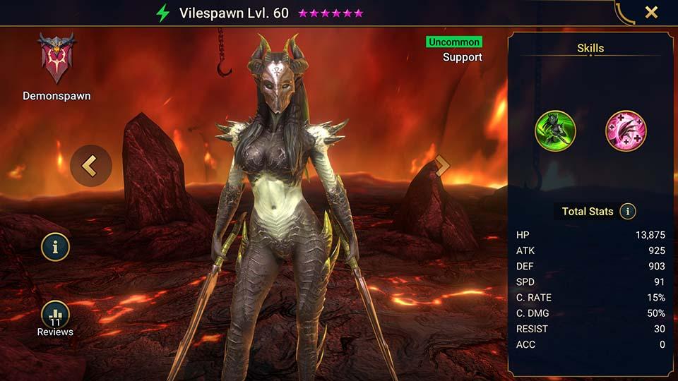 Vilespawn Raid Shadow Legends