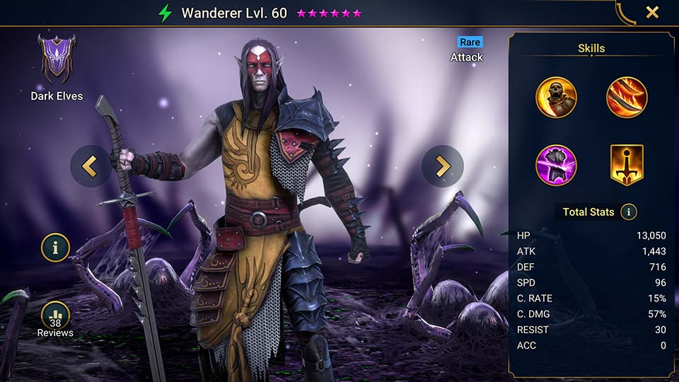 Wanderer Raid Shadow Legends