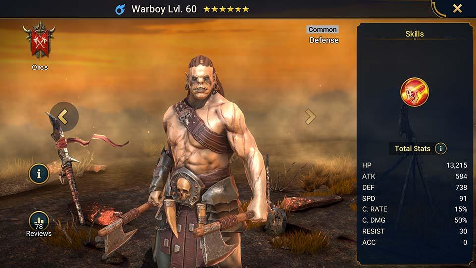 Warboy Raid