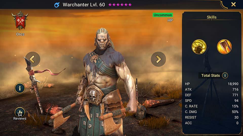 Warchanter Raid Shadow Legends