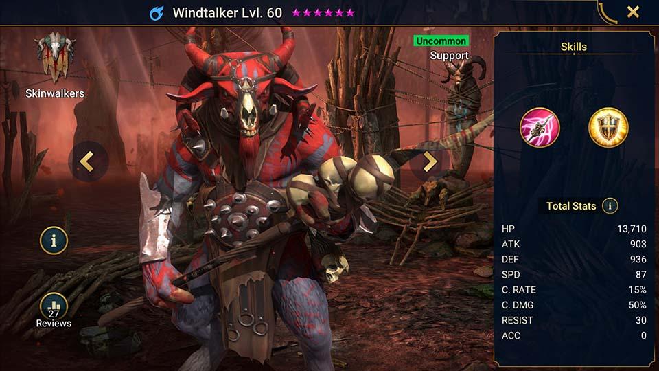 Windtalker Raid Shadow Legends