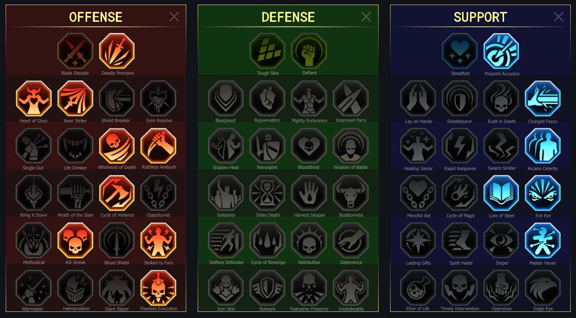 Zargala Arena Campaign Faction Wars