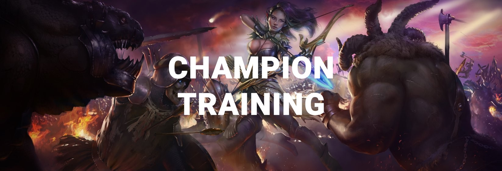 RAID Shadow Legends Champion Training Event