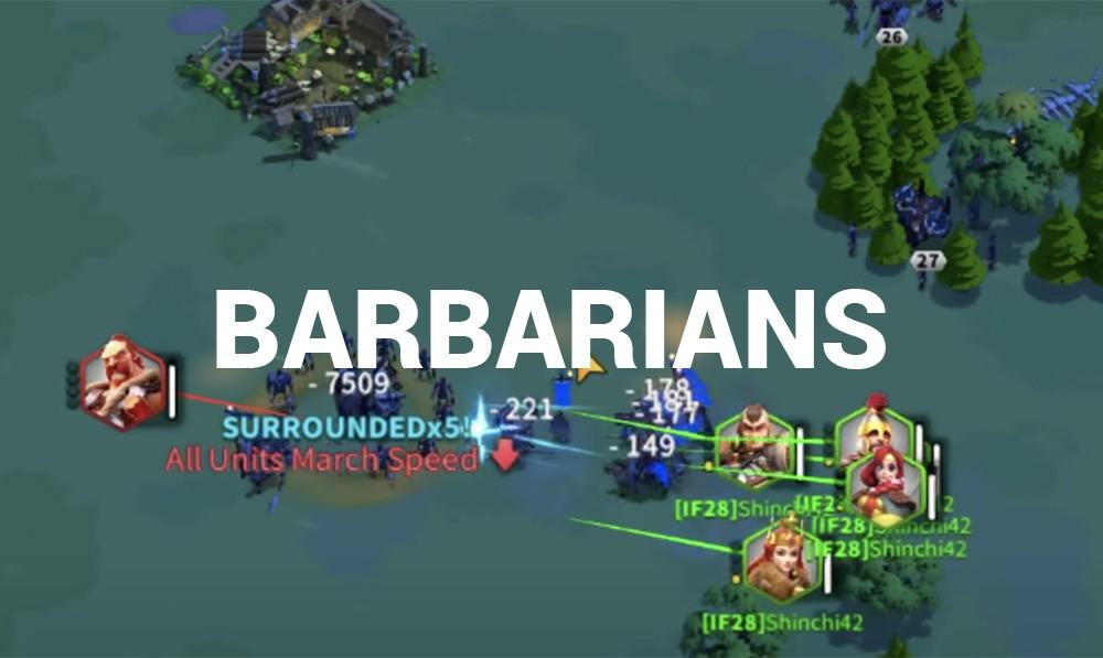 farming barbarians Rise of Kingdoms