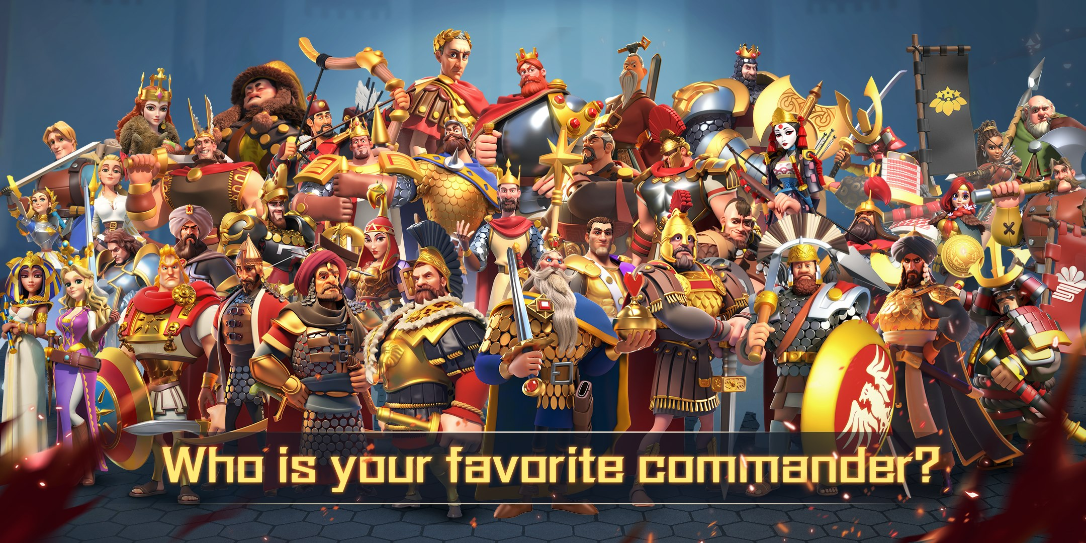 Rise of Kingdoms commanders