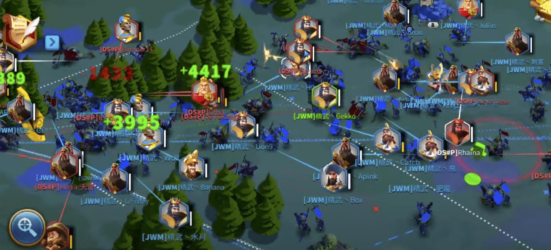 Rise of Kingdoms kvk fights