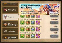 Rise of Kingdoms Warpath