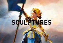 Rise of Kingdoms Commander Sculptures