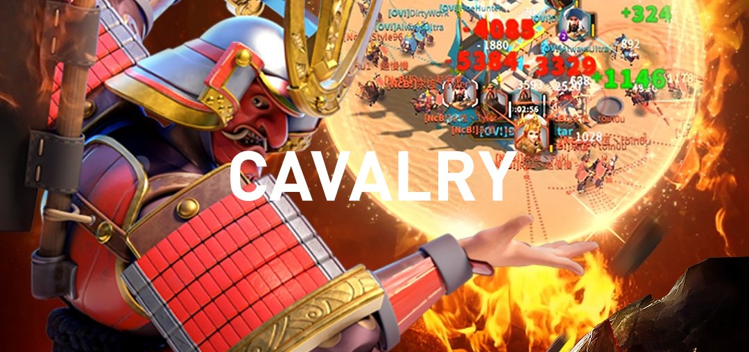 cavalry commanders Rise of Kingdoms
