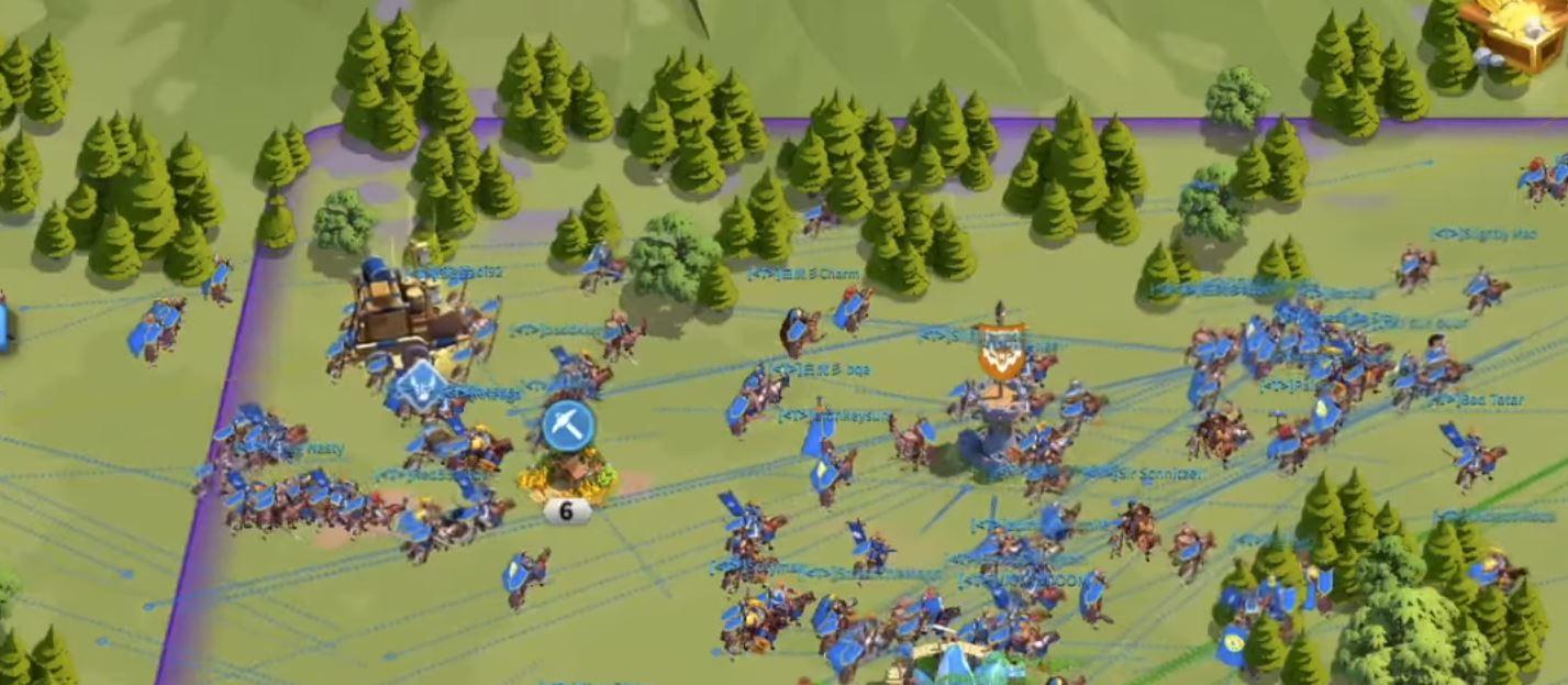 protecting Alliance Caravan