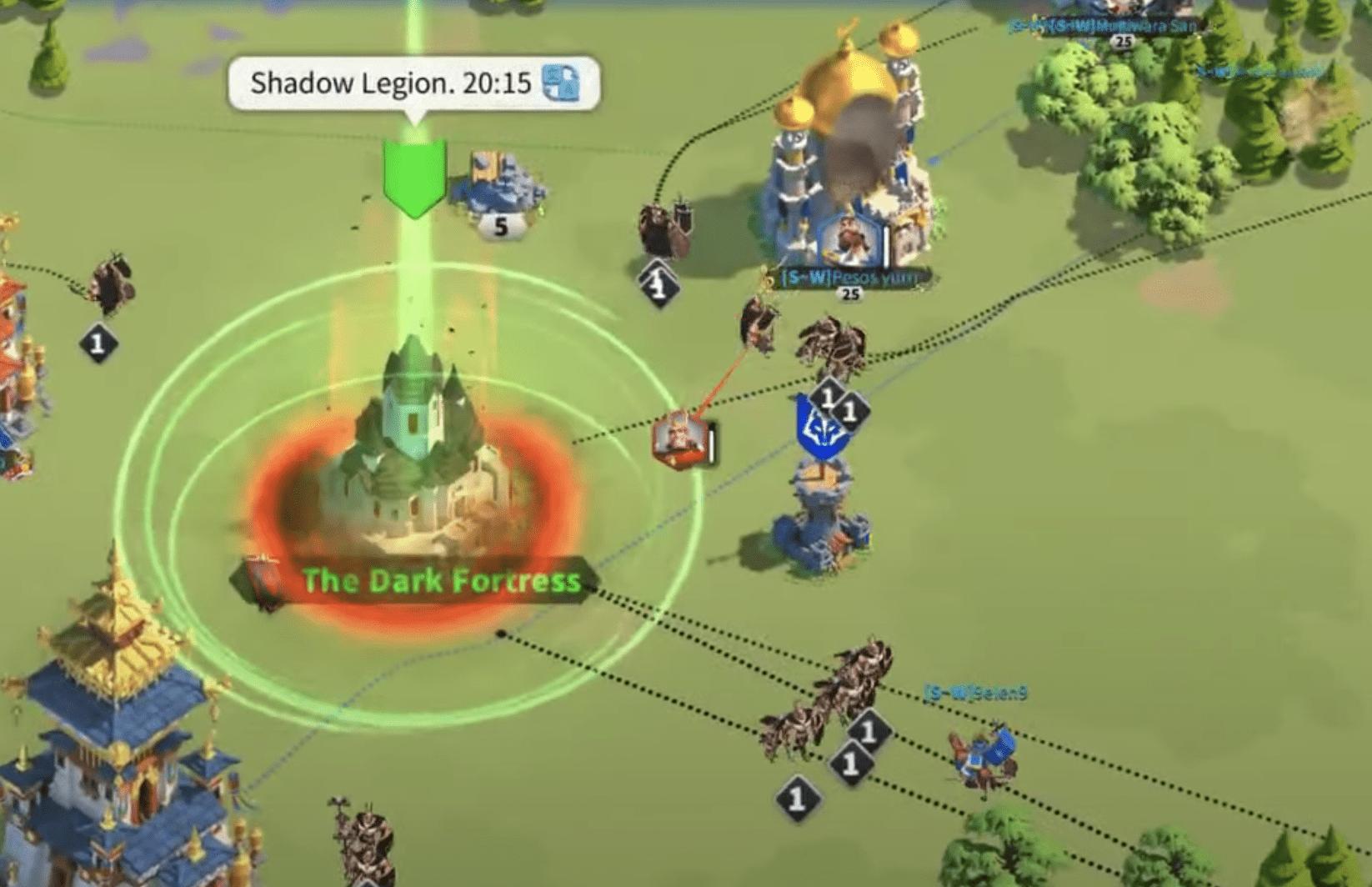 shadow legion invasion dark fortress
