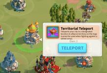 teleport city Rise of Kingdoms