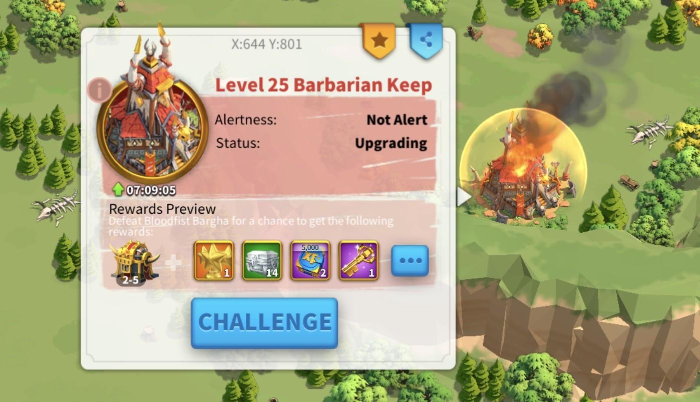 barbarian keep