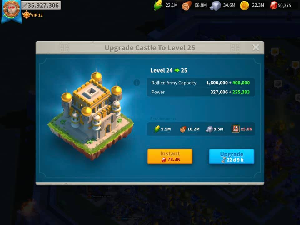 building upgrade